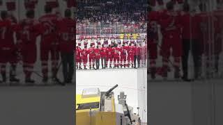Гимн России  Сборная России бронзовый призер ЧМ 2019 в Словакии  26 мая