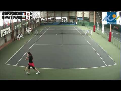 LEVIVIER (FRA) vs ZLATEVA (BUL) - Open Super 12 Auray Tennis - Court 2