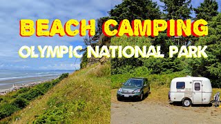 Heading to Olympic National Park Beach Camping