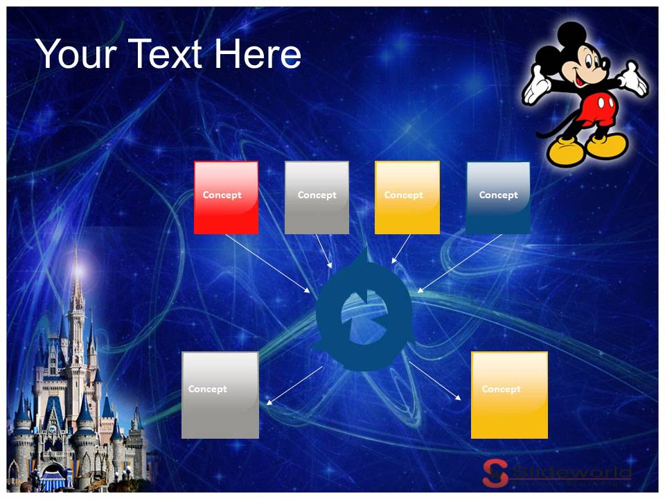 mickey mouse powerpoint presentation templates - youtube, Modern powerpoint