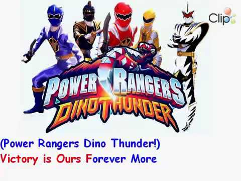 Power Rangers Dino Thunder Theme song(Lyrics)