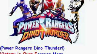 Power Rangers Dino Thunder Theme song(Lyrics)
