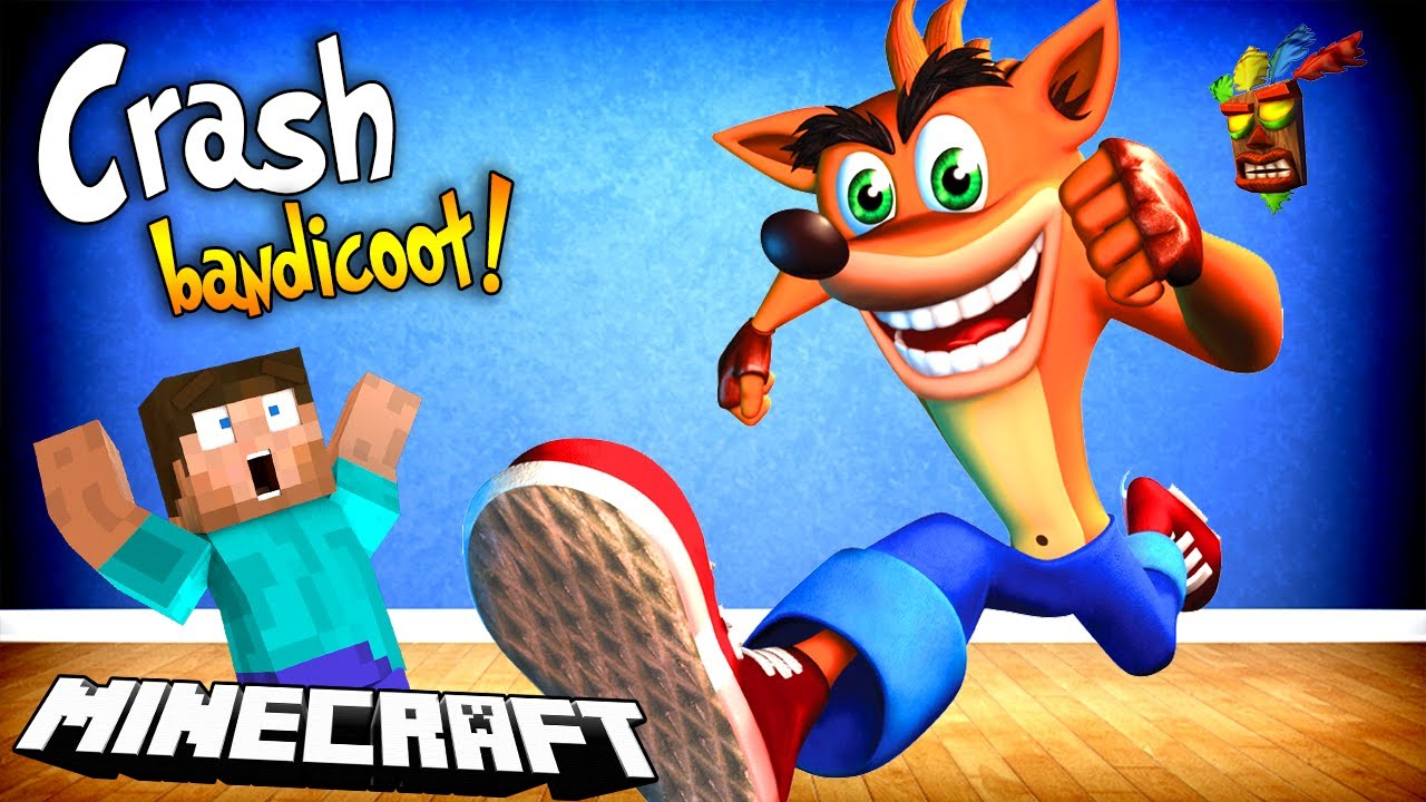CRASH BANDICOOT W MINECRAFT?!
