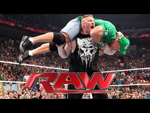 Minecraft Scene - Brock Lesnar Returns To WWE 2012 -