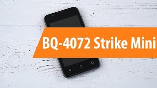 распаковка BQ 4072 Strike Mini / Unboxing BQ 4072 Strike Mini