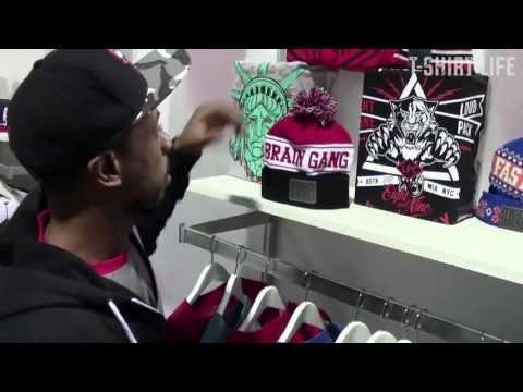 T-Shirt Life Agenda Show Long Beach (Part 2) 8&9 Clothing, Slow Bucks, Slave Skateboards