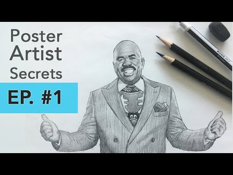 Poster Artist Secrets #1: The Movie Poster Process