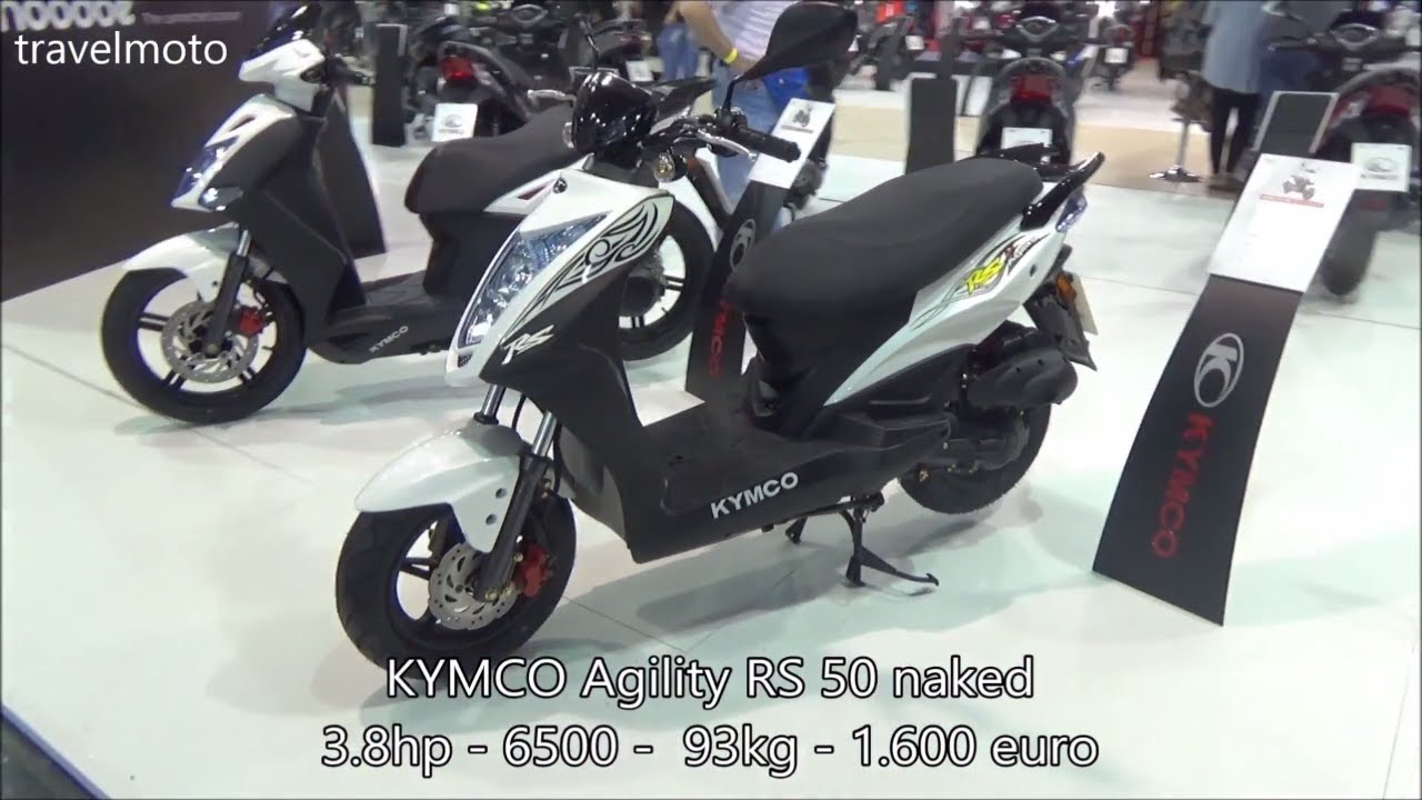 the kymco agility rs 50cc scooter 2017 youtube. Black Bedroom Furniture Sets. Home Design Ideas