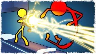 БЕГИ!!! У НЕГО ЛАВА-ПУШКА!!! УГАР STICK FIGHT THE GAME!!!