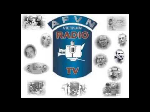AFVN Radio Sign On with South Vietnamese and United States National Anthems