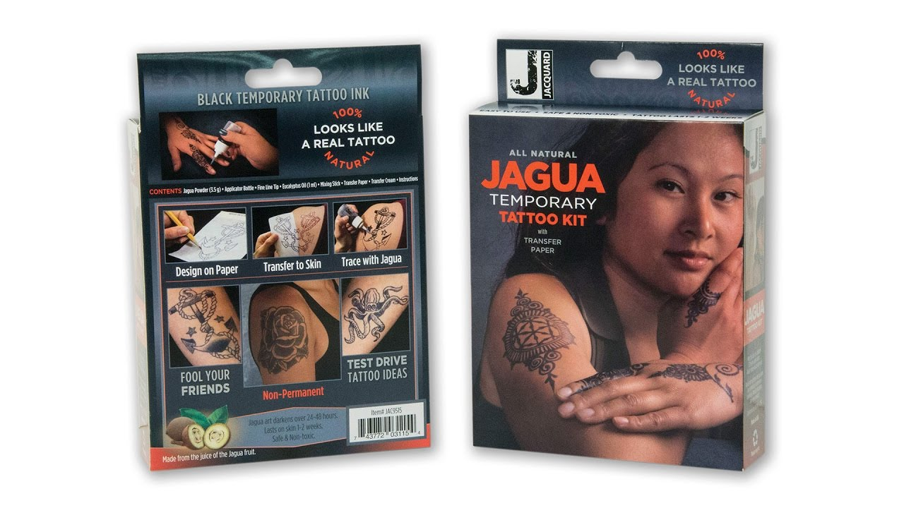 Jagua temporary tattoo kit from jacquard youtube jagua temporary tattoo kit from jacquard solutioingenieria Image collections