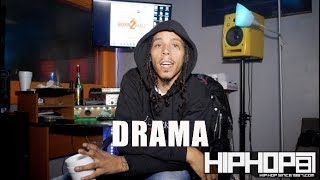 "Drama Talks About His New Project ""3"", Working with Jim Jones, His Oct 21st Concert & More"