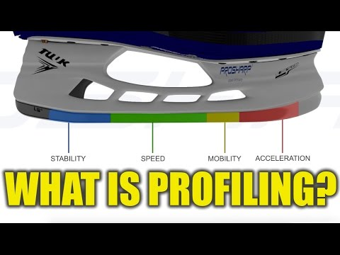 What is hockey skate profiling ft. ProSharp