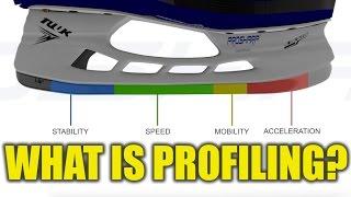 What is hockey skate profiling ft. ProSharp