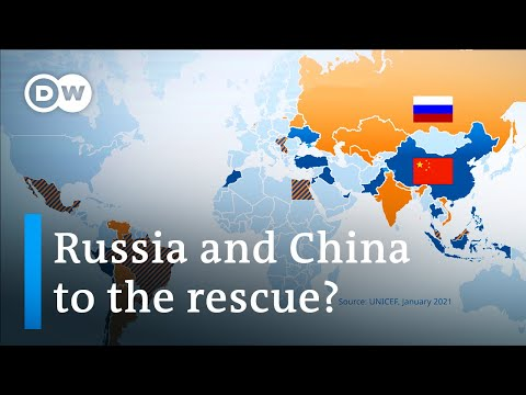 How Russia and China are winning the vaccine diplomacy race | DW News