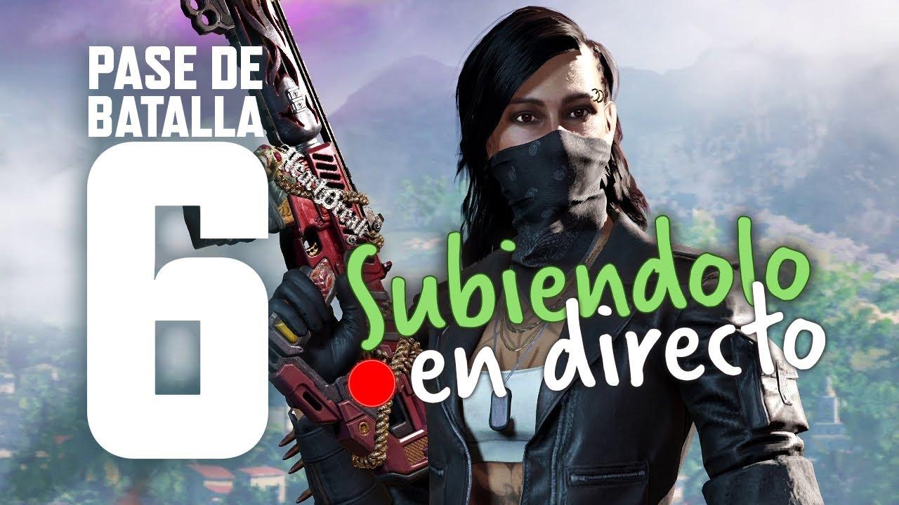 SUBIENDO EL NUEVO PASE DE TEMPORADA 6 y COMENTANDO LO NUEVO! | Call of Duty Mobile