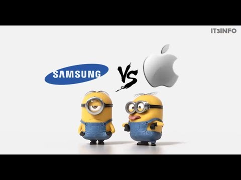 Samsung Vs Apple Minions Style ( Funny Minions)