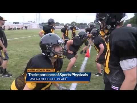 The importance of sports physicals Medical Minute
