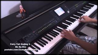 Fairy Tail Ending 6 - Be As One - Piano Improvisation