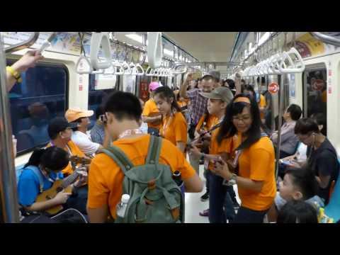 PPMUM Taiwan 2016 Flashmob inside MRT 捷运