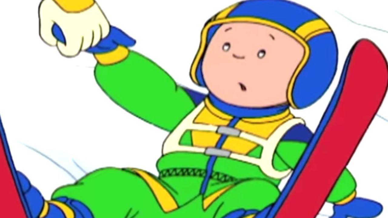 Caillou Weihnachten.Caillou Deutsch Caillou Und Weihnachten Skifahren Cartoons Auf Deutsch Neue Ganze Folge 2018