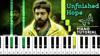 Premam Sad Violin BGM Piano Tutorial   Unfinished Hope  | Premam Piano  Cover