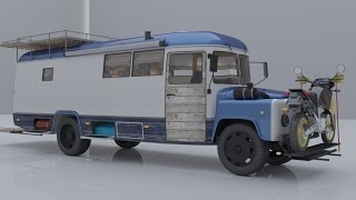 Автодом из удлиненного автобуса КАВЗ 397652 Conversion Russian bus in to motorhome(, 2016-06-01T13:08:45.000Z)