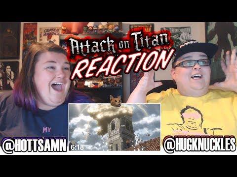 Attack On Titan Season 1 Episode 7 (1x7) 3K SUB BONUS REACTION!!