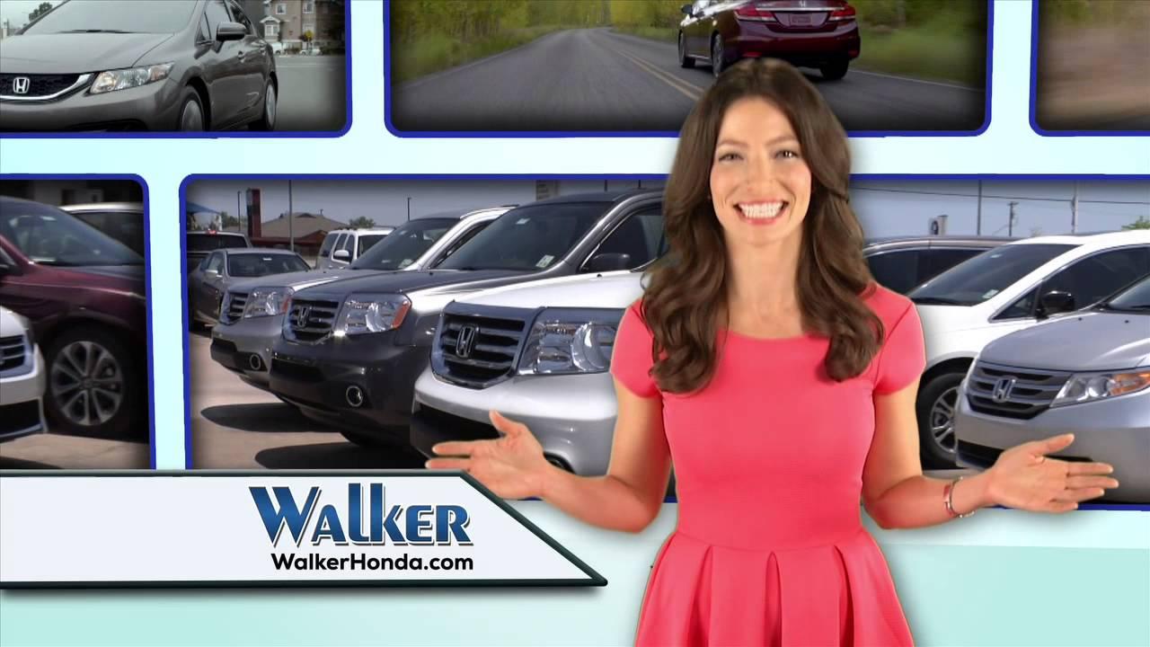 Walker Honda - Trade In Trade Up   Summer Lease Specials - June 2014