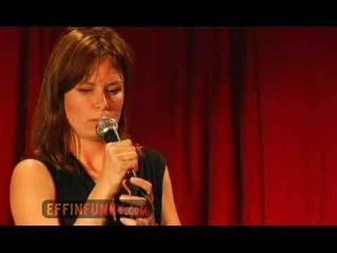 Mary Lynn Rajskub Effinfunny Stand Up  Rush Limbaugh Affair
