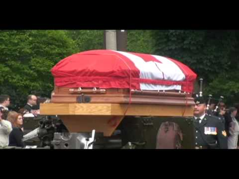 canadian Soldier's Funeral