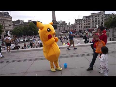 London Tag 2: Mit Pikachu am Trafalgar Square (^.^)/