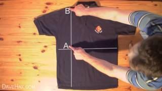 Cómo doblar una camiseta en menos de dos segundos thumbnail