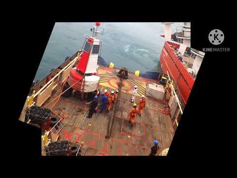 Buoy handling operation, Bangladesh offshore.