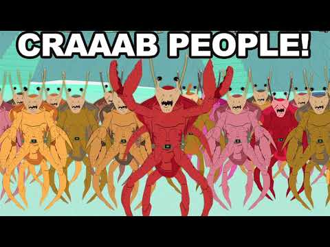 Crab People song South Park
