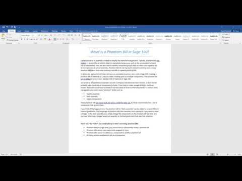 Sage 100 Software Tips & Tricks | DWD Technology Group