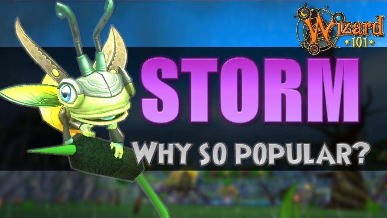 [Wizard101] Why Is the Storm School So Popular?