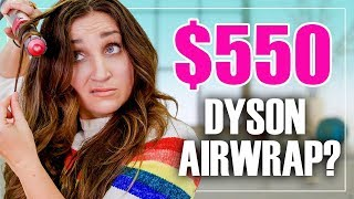 $550??? Is the DYSON AiRWRAP Really Worth It? (FAB or FAIL)