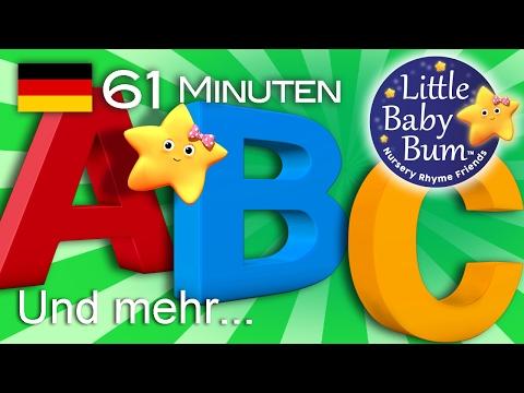 Alphabet & Zahlen | Und noch viele weitere Kinderlieder | von LittleBabyBum