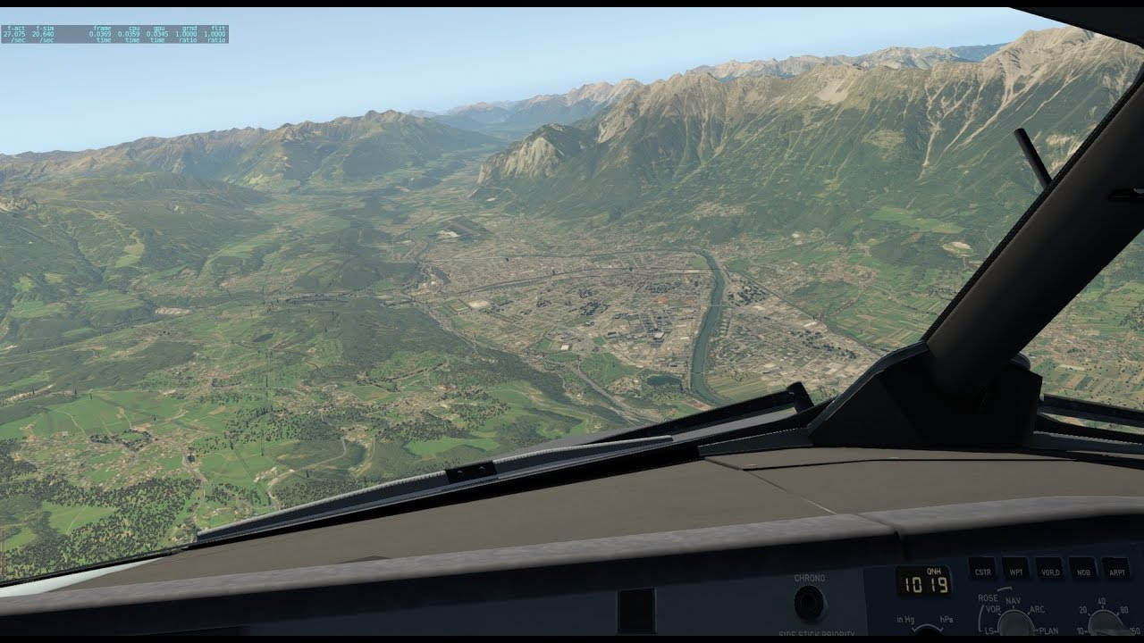 X-Plane 11 | ToliSS A319 IAE Soundpack | Interesting departure | LOWI -  EHAM- EGLL