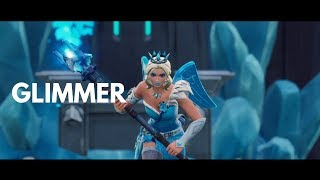 GLIMMER SKIN - Fortnite Gameplay/Montage ( Match Rumble de l'équipe