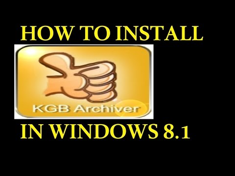 Install KGB Archiver 2 beta 2 Problem with this Windows installer package FIXED
