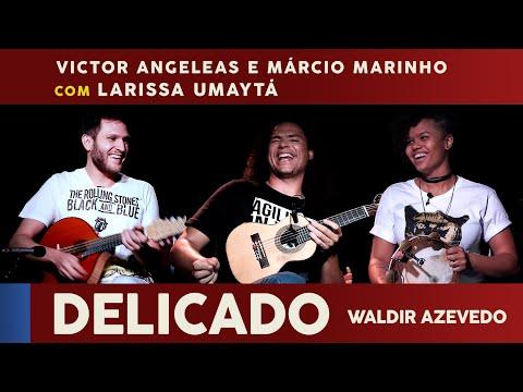 Delicado (Waldir Azevedo) com Larissa Umaytá no Programa Face Musical