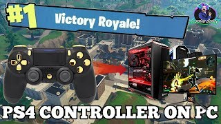PS4 Controller on PC Fast Fortnite Builder 900 Wins