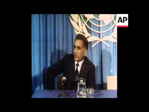 SYND 6 6 78 AFGHAN FOREIGN MINISTER HAFIZULLAH PRESS CONFERENCE ON RECENT COUP