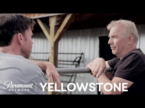 Kevin Costner on Yellowstone & Working w/ Taylor Sheridan | Paramount Network