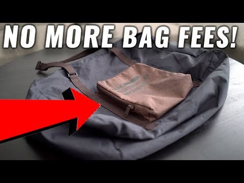 The PERFECT Carry On Travel Bag For Spirit / Frontier / American Airlines (FREE PERSONAL ITEM!)