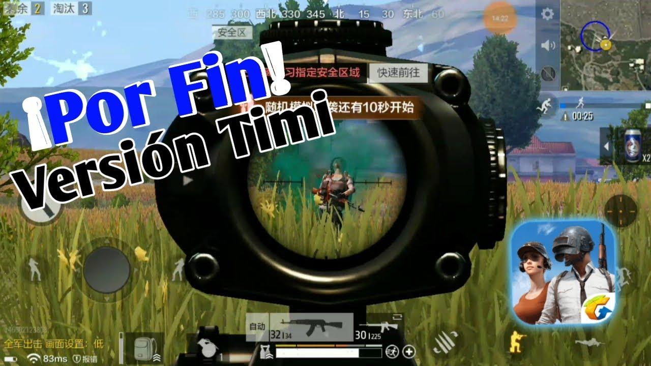 Te Muestro La Versión De Timi Del PlayerUnknown's