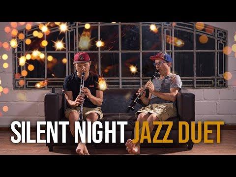 Silent Night  Clarinet Jazz Duet