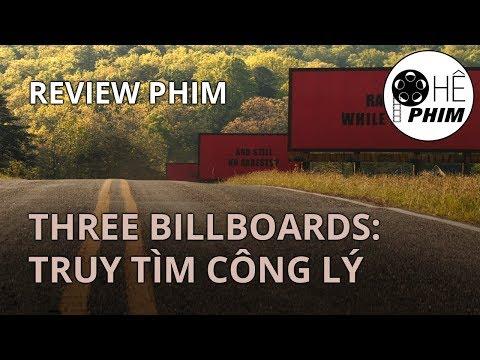 Review phim THREE BILLBOARDS: TRUY TÌM CÔNG LÝ